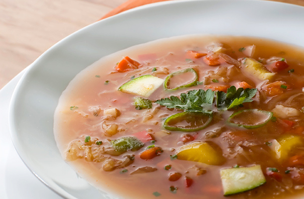 méregtelenítő leves receptek)