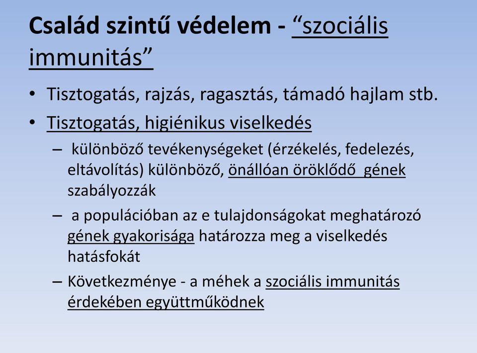 gomba az immunitás érdekében)