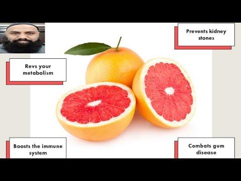grapefruit esik a féreg belsejébe)