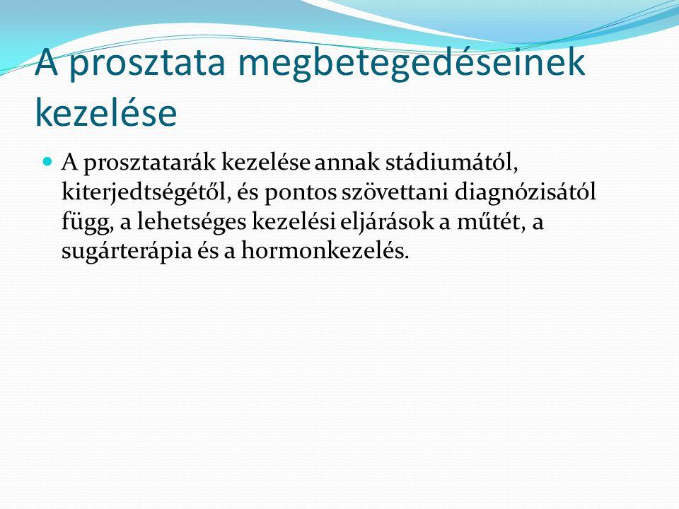 prosztatarák 2020 ppt szemölcsök kezelése során