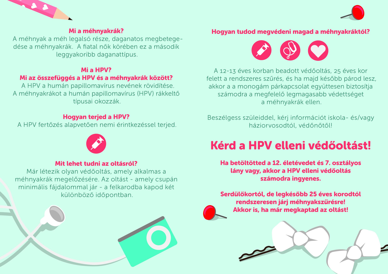 humán papillomavírus ajánlások)