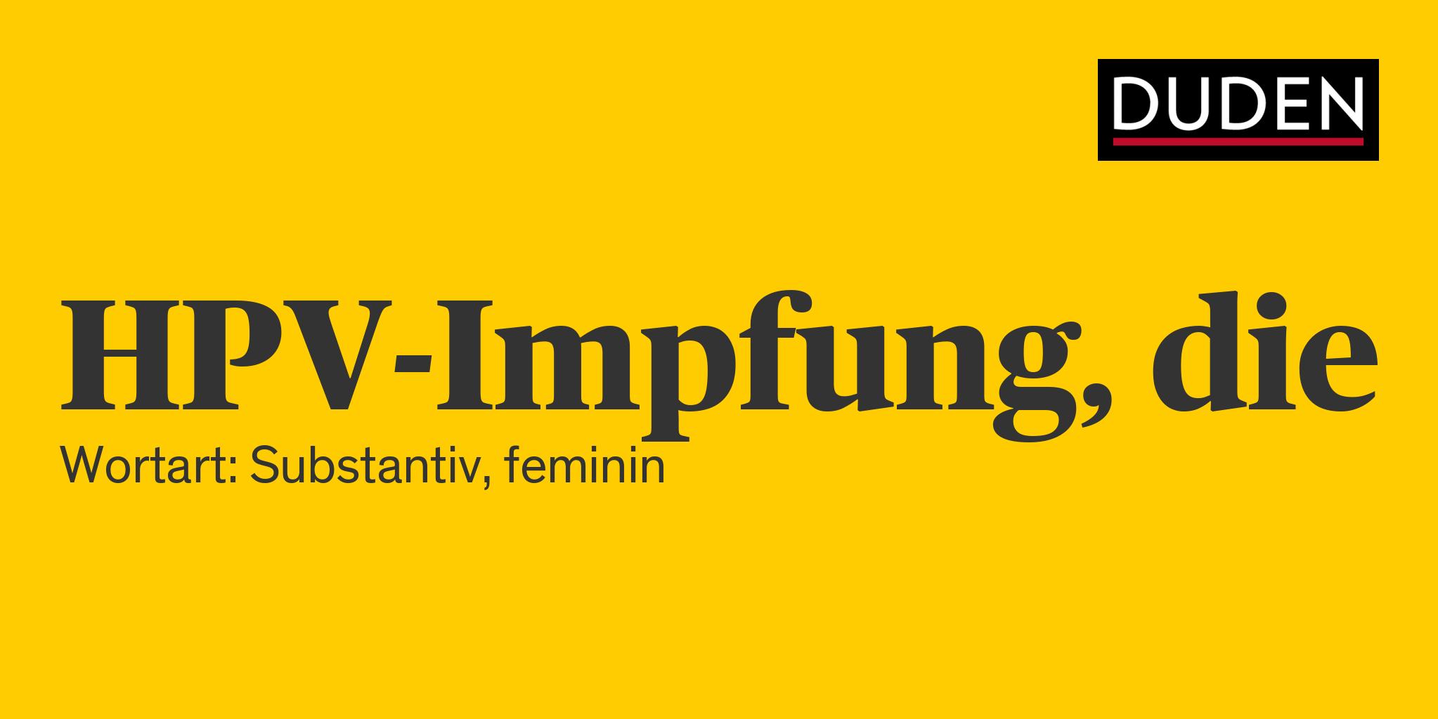 hpv impfung definíció)