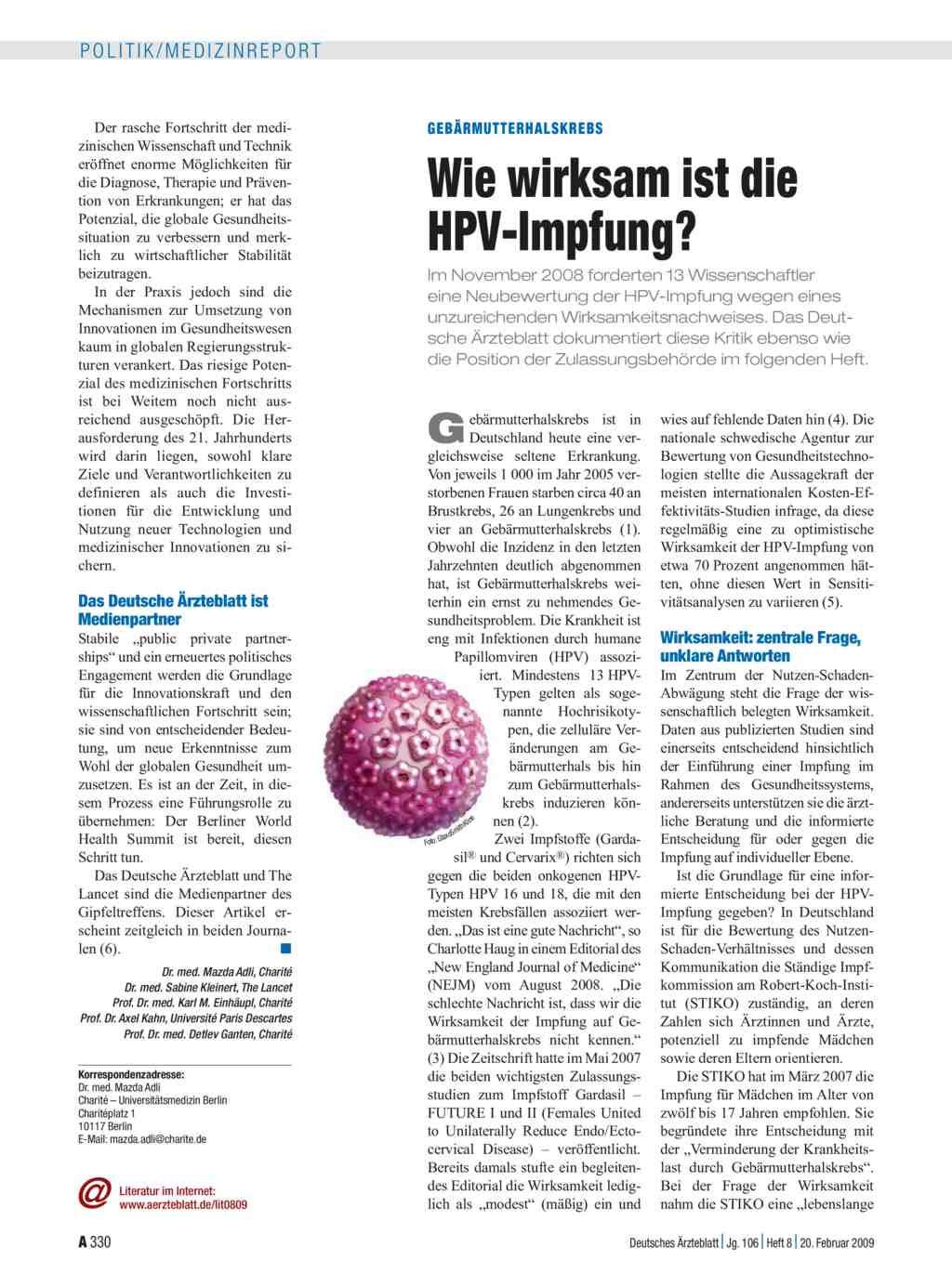 hpv impfung empfehlung)