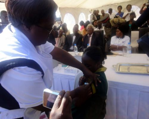 humán papillomavírus elleni vakcina Zambia-ban)