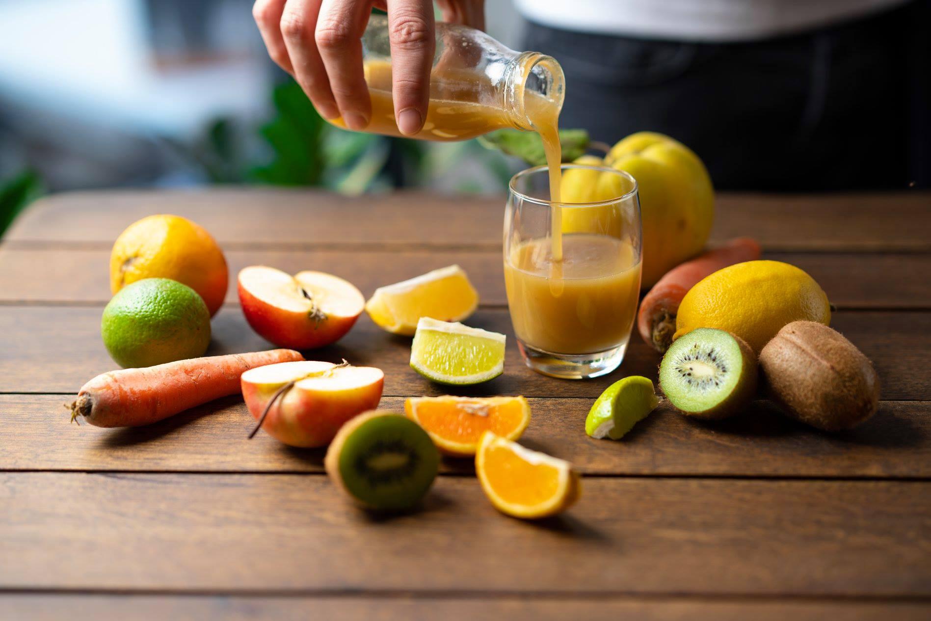 méregtelenítő gyümölcslé receptek