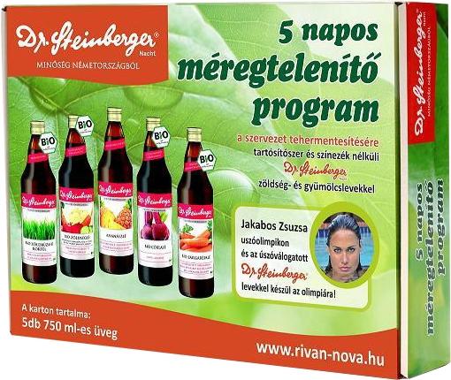 a szervezet méregtelenítése természetes gyümölcslevekkel)