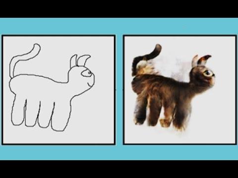 férgek a gyermekek rajzain