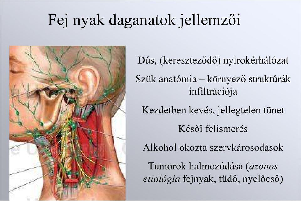 mandibuláris rák tünetei