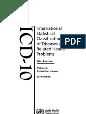 Papilómák az ICD-10 szerint